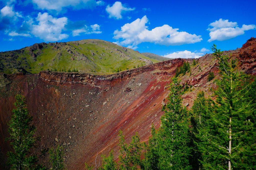Khorgo-vulkaan in Mongolië (2)