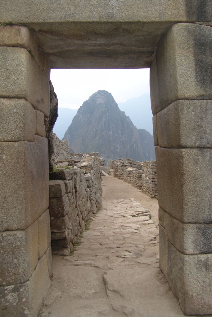 Lost city Machu Picchu Peru