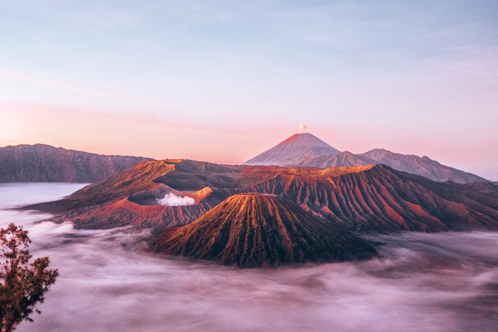 Mount Bromo, Java Indonesië | beste vulkanen om over de hele wereld te bezoeken