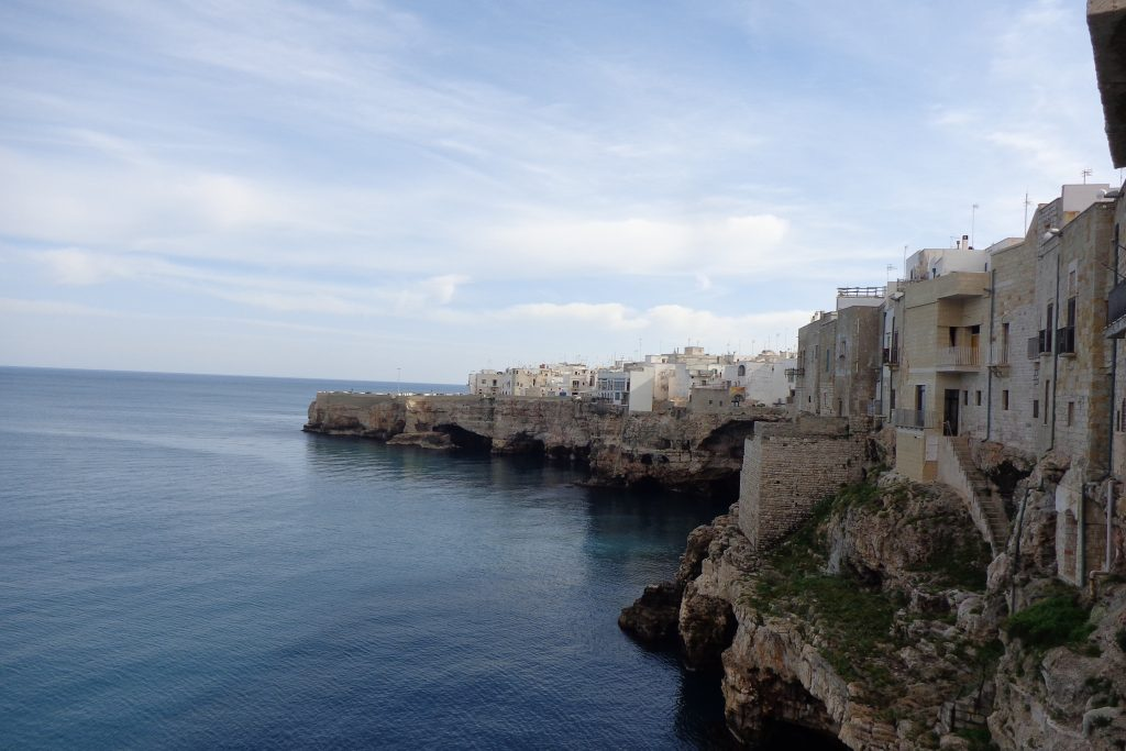Roadtrip Europe Apulia Polignano a mare