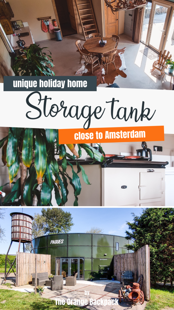 Storage tank close to Amsterdam unique place to stay in the Netherlands