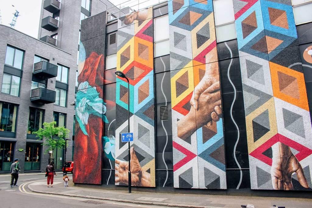 Street art Shoreditch ck travels london street art