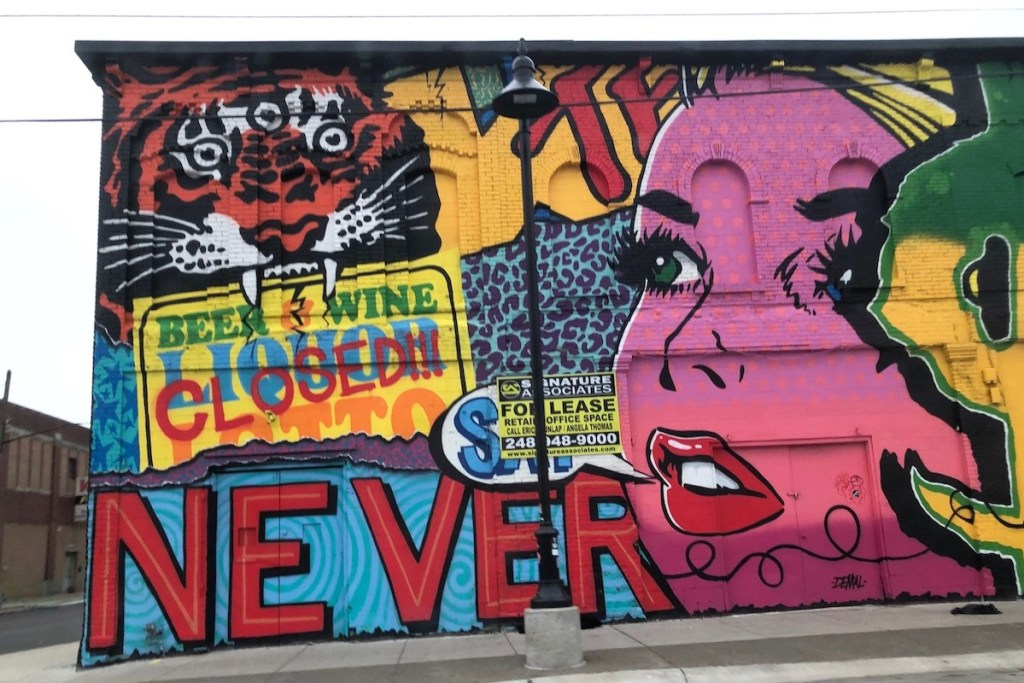 Warsaw street art city Poland
