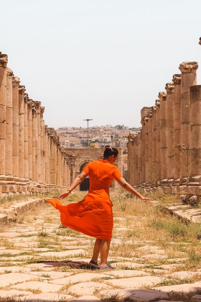 ancient city Jerash in Jordan | round trip Jordan