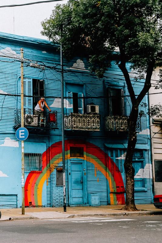 straatkunst in Buenos Aires