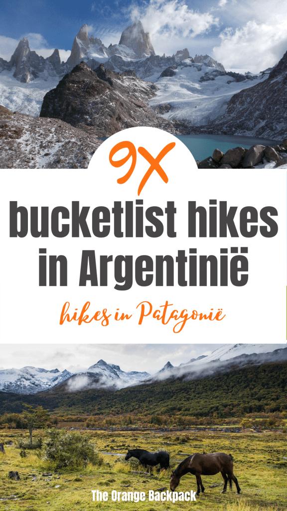 9 beste hikes in Patagonie in Argentinie