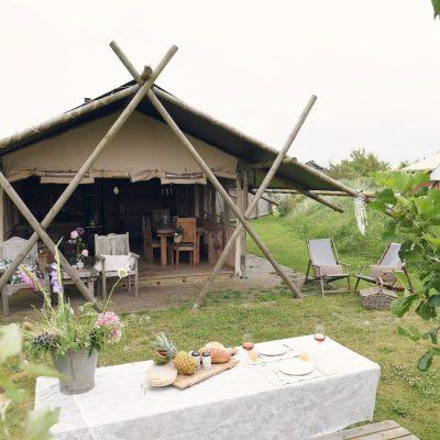 Bijzondere Overnachtingen - Safaritent Texel