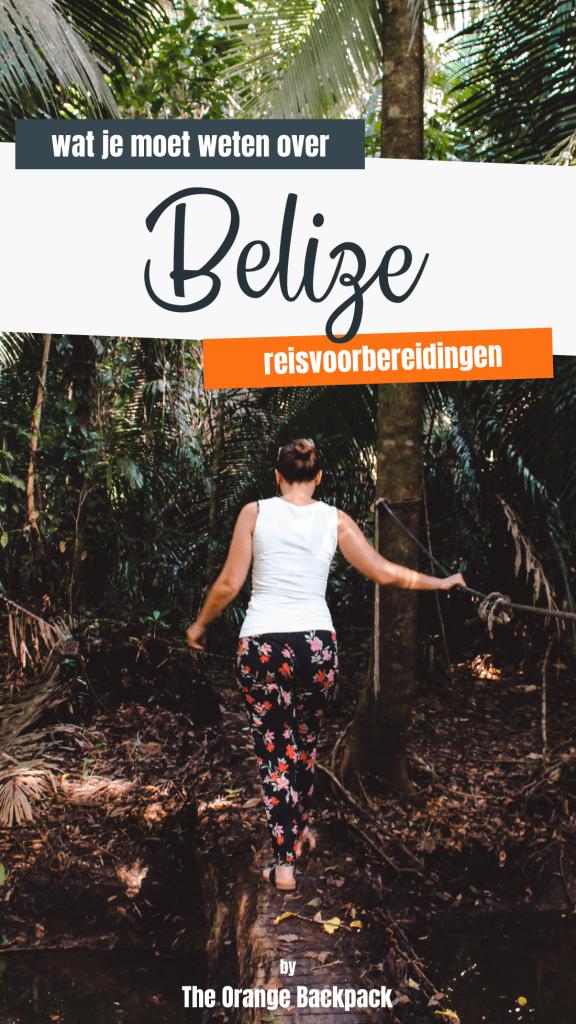 wat je moet weten voor je reis naar Belize reisvoorbereidingen