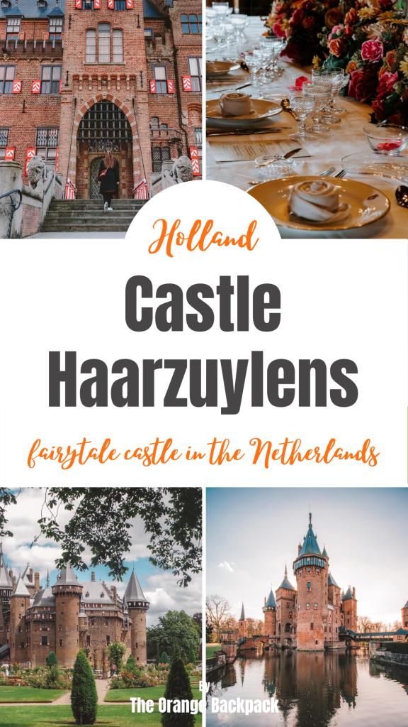 De Haar castle | Haarzuylens at Utrecht | best castle in the Netherlands