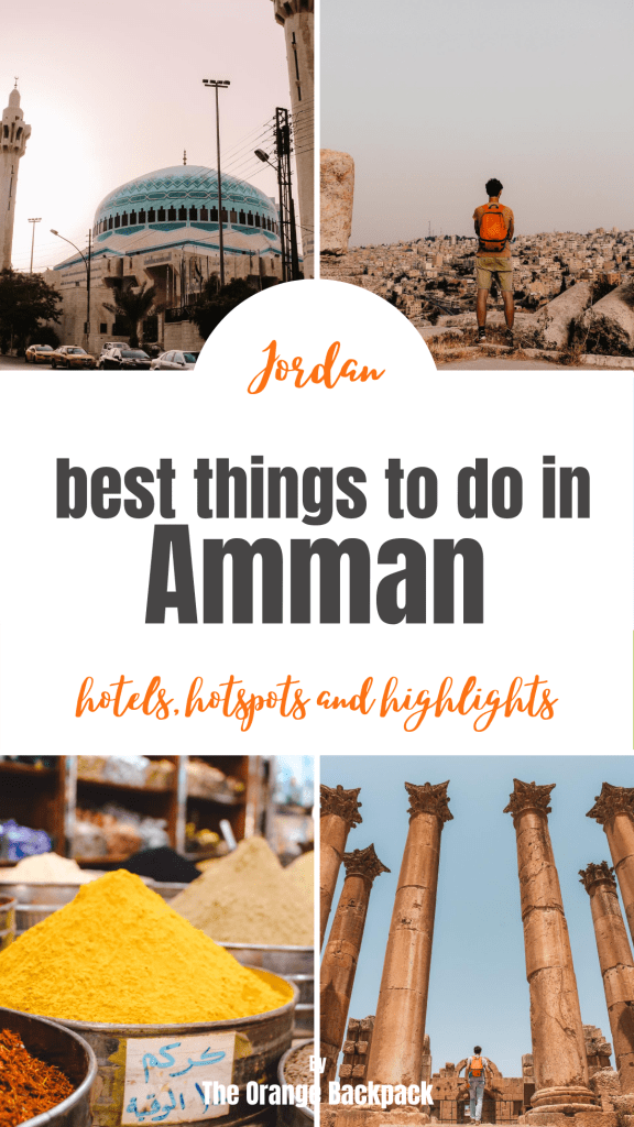 things to do in Amman sights and highlights