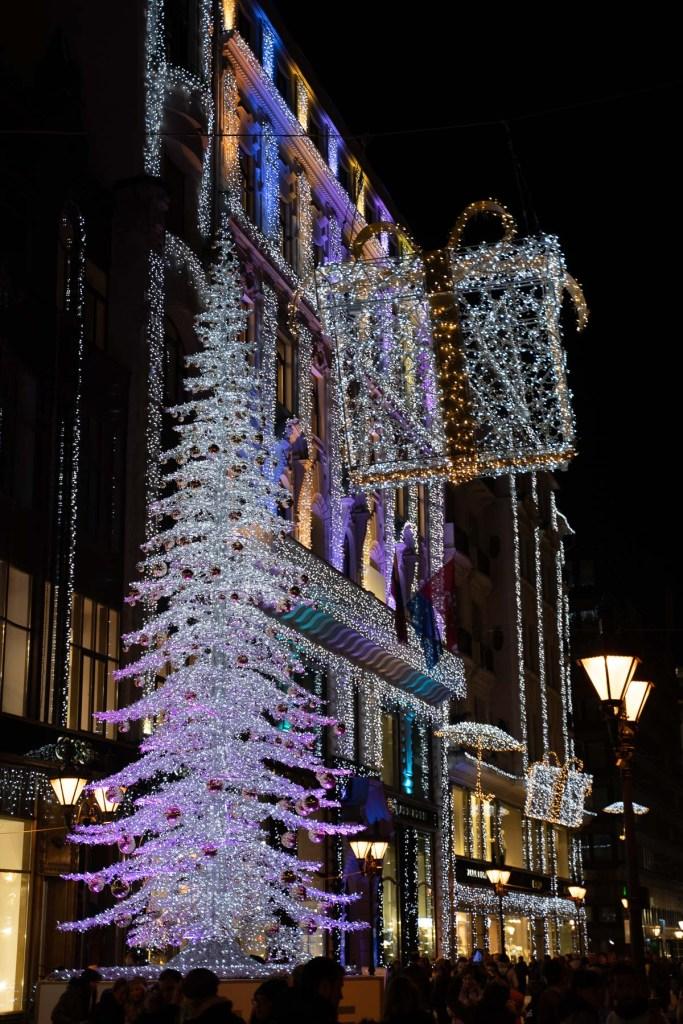 Budapest Fashion Street Christmas Lights