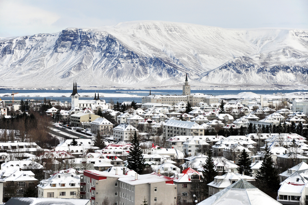 Reykjavik Winter city trip