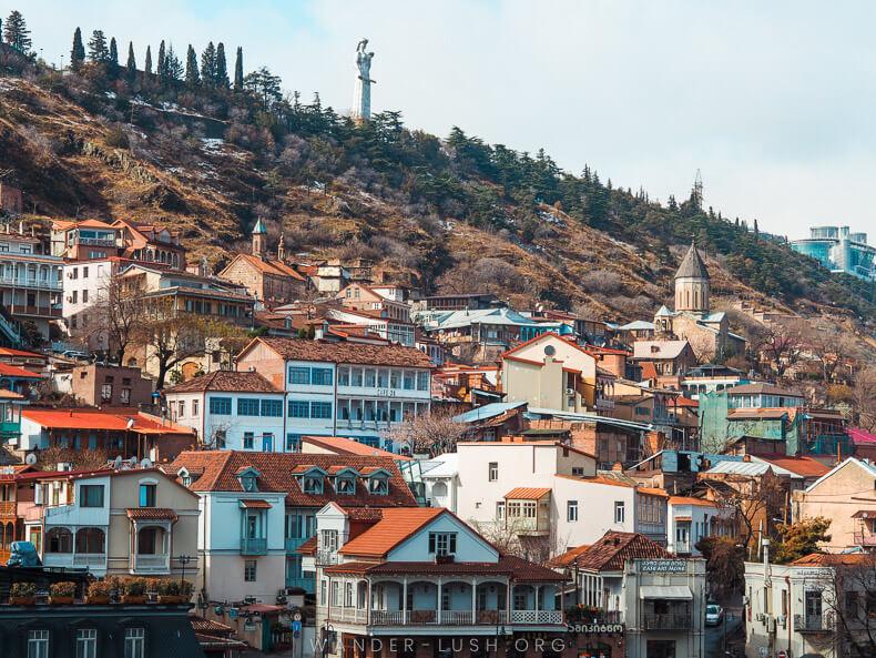 Tbilisi in Georgia winter city trip in Europe