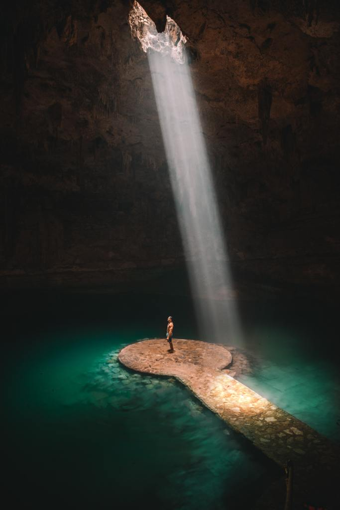 instagrammable cenote in mexico