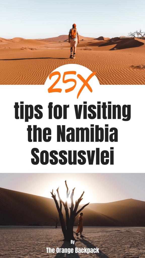 Sossusvlei Namibia practical tips