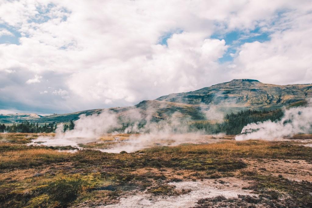 Geisers IJsland Geysir Strokkur Haukaladur | Iceland geysers