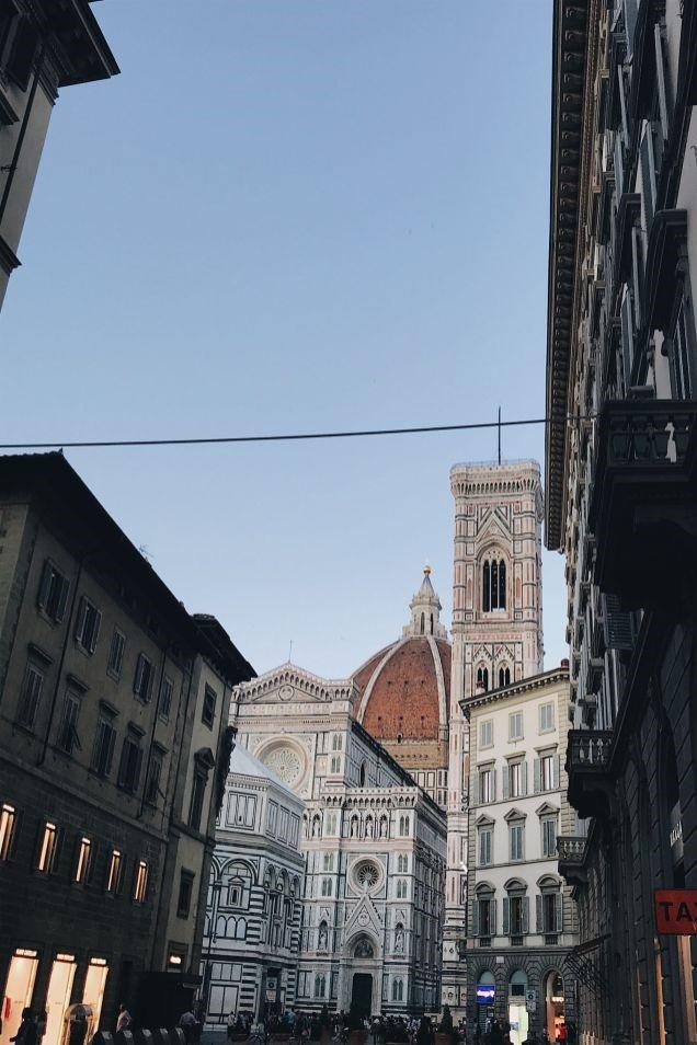 Italië Florence - Interrail Routes Europa