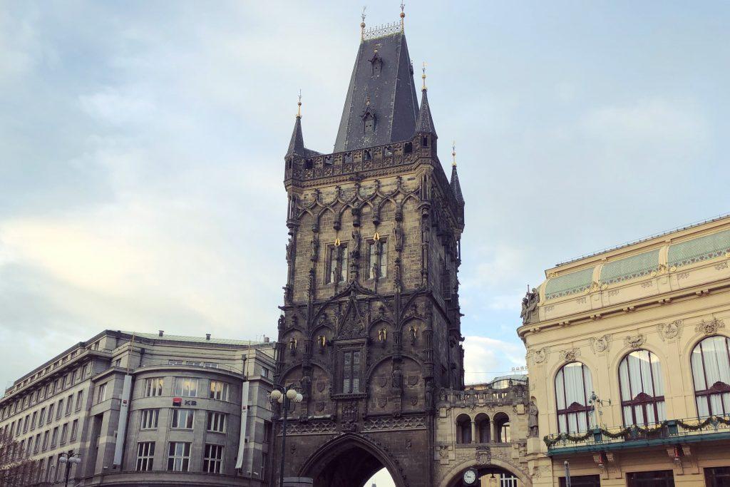 Praag - De Kruittoren - Interrail routes door Europa