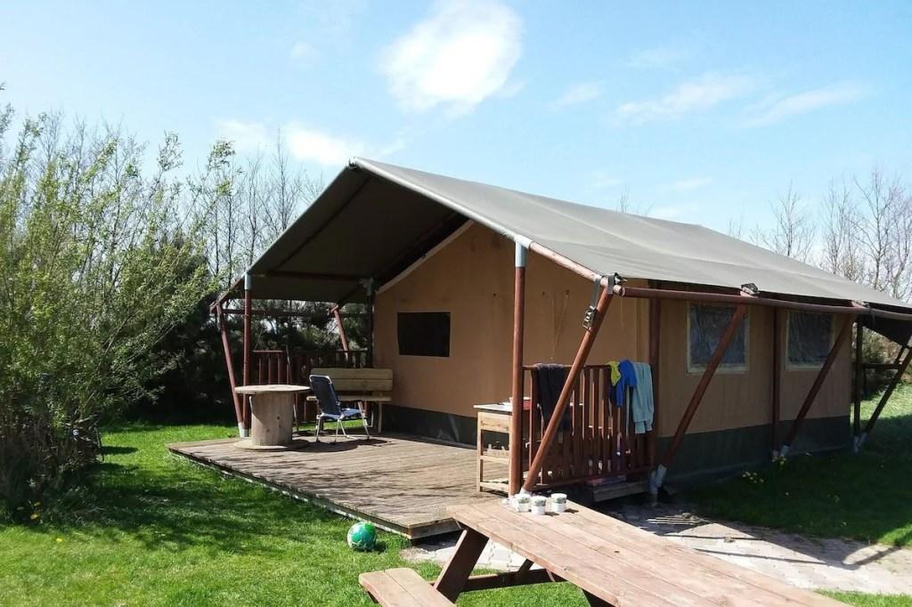 Safaritent Tussen Wad en Strand - Airbnb Ameland