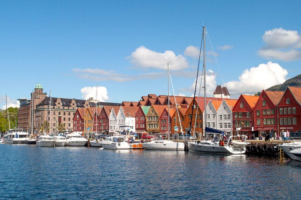Scandinavië Bergen - Interrail Routes Europa