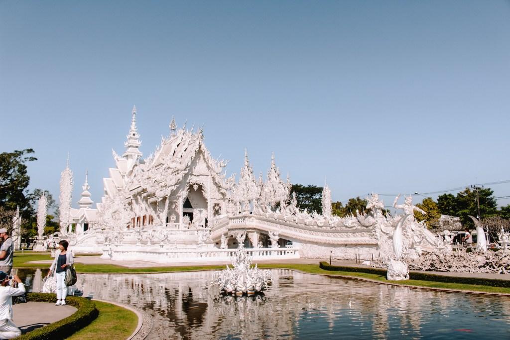 Wat Rong Khun | White Temple Chiang Rai Thailand