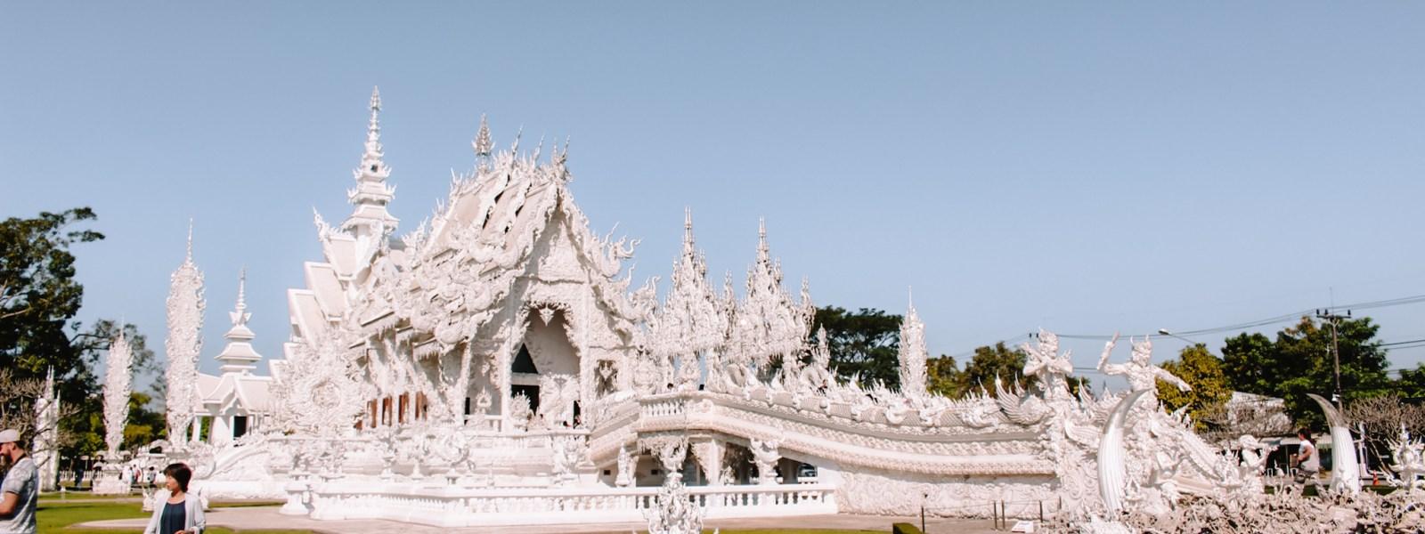 Wat Rong Khun: bezoek de White Temple in Chiang Rai