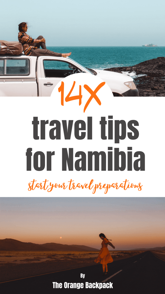 practical tips for Namibia backpacking
