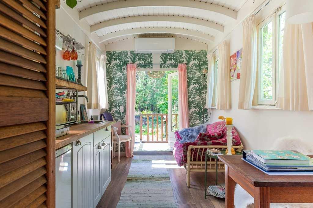 bijzondere airbnb pipowagen De Bosuil