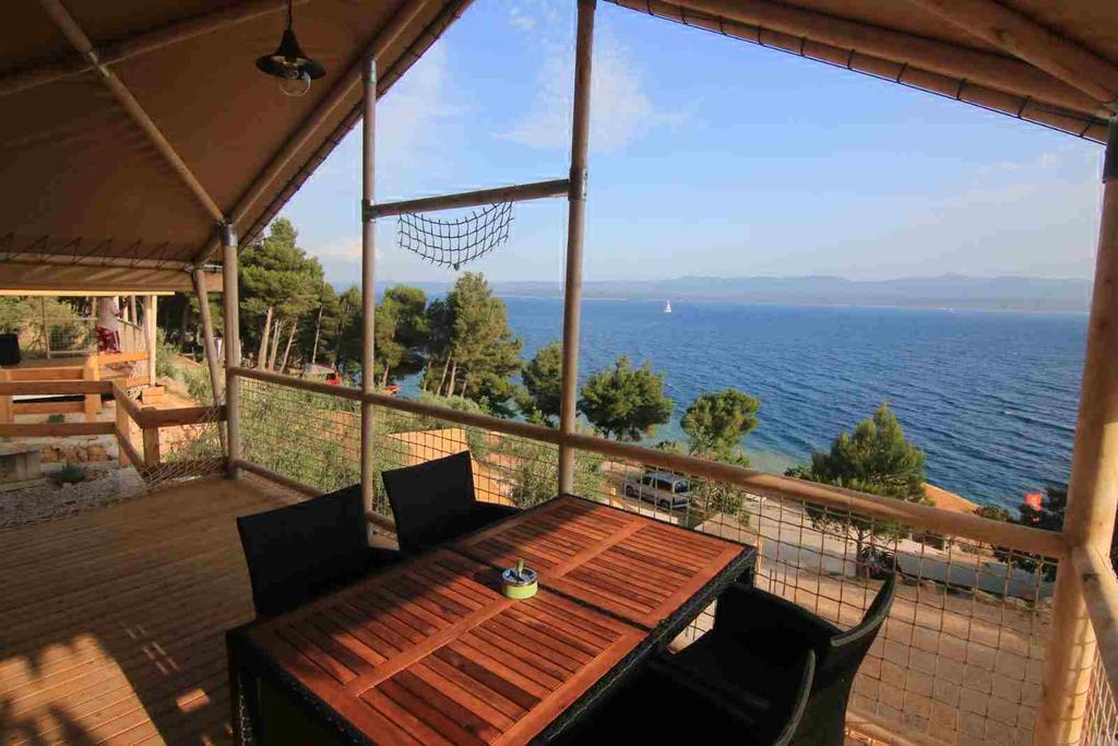 Glamping Aloa via Airbnb Kroatie