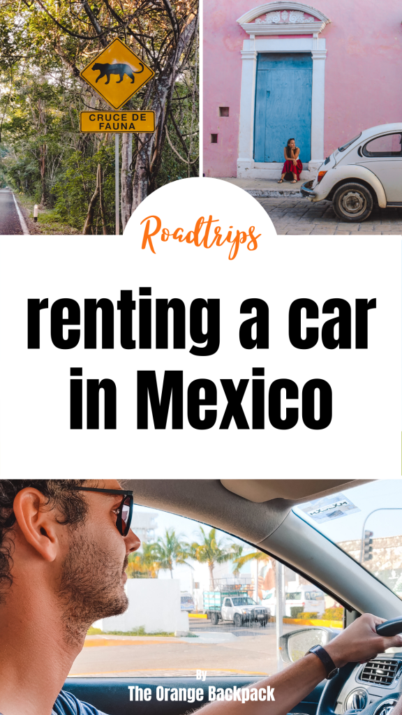 Mexico | rental car and driving in Yucatan