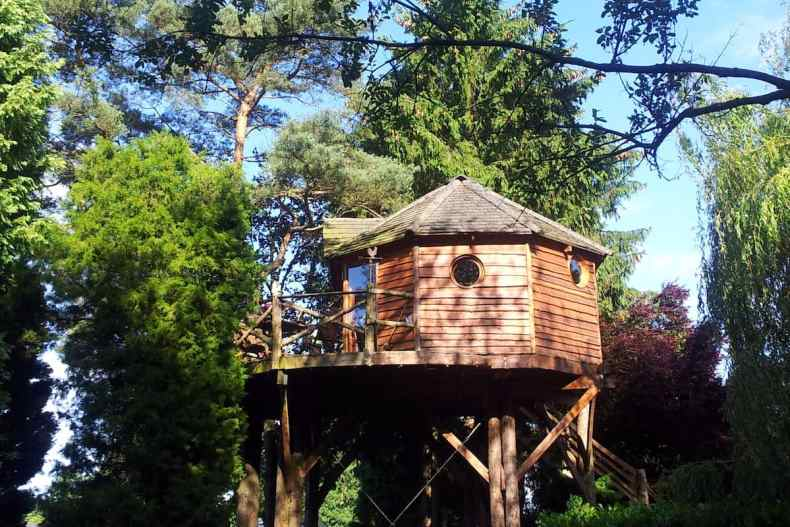 Treehouses-Belgium