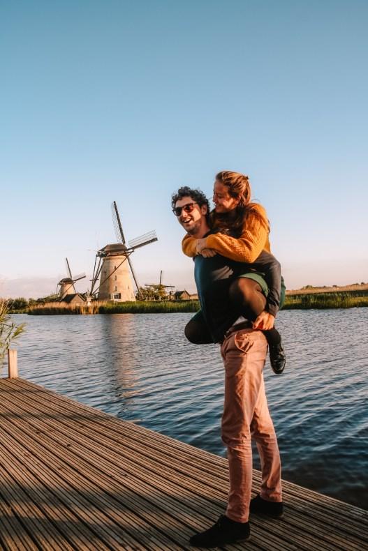 Historische molens van Kinderdijk