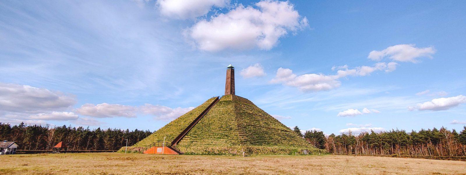 Pyramide van Austerlitz: uniek monument op Utrechtse Heuvelrug