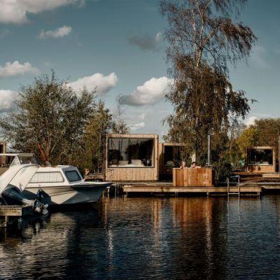 Bijzondere overnachtingen - tiny house vinkeveen