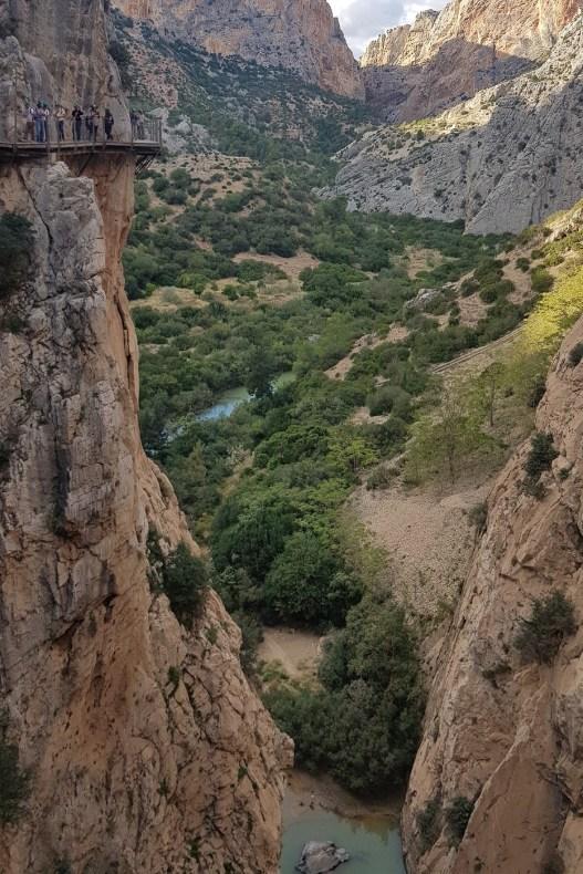 roadtrip zuid-spanje   caminito del rey andalusia