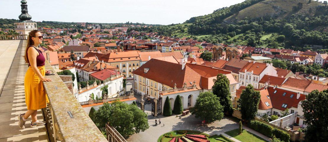 Mikulov in Tsjechië, sprookjesachtig dorp in Zuid-Moravië