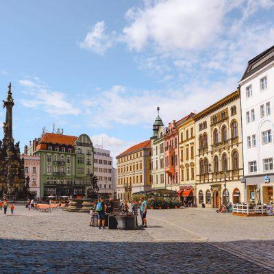 Olomouc Grote Plein