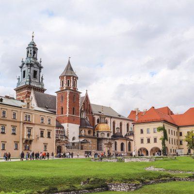 kasteel Krakau in Polen