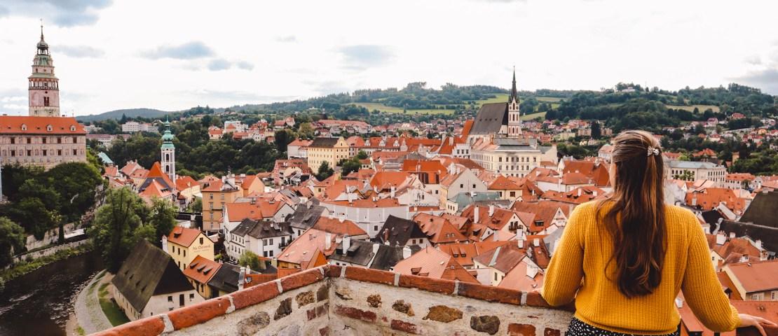 De beste uitzichtpunten in Český Krumlov