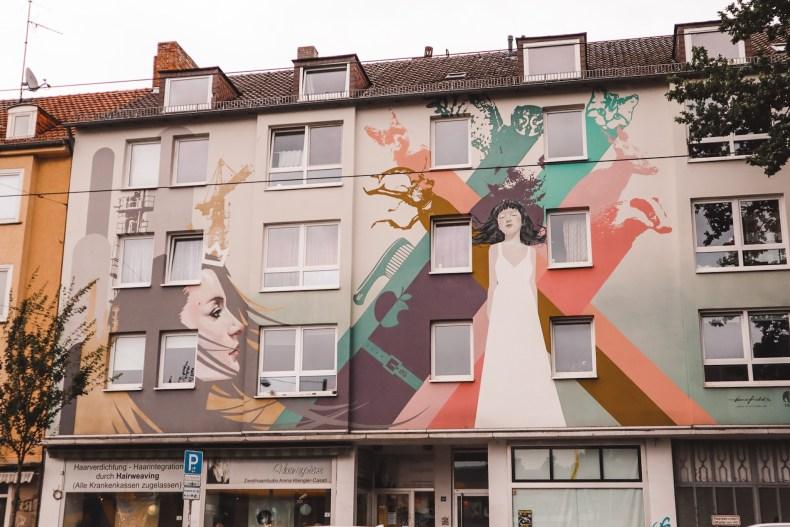 Street art Kassel Duitsland