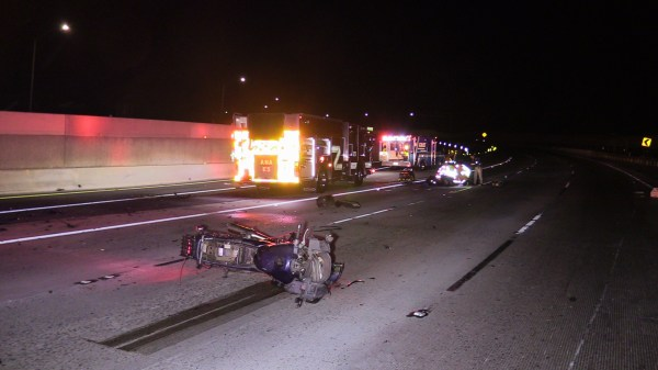 91 Freeway Crash Last Night - Year of Clean Water