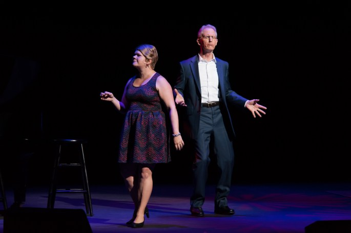 Segerstrom Center - Into the Woods Reunion - Danielle Ferland and Robert Westenberg - by Doug GIfford (2)