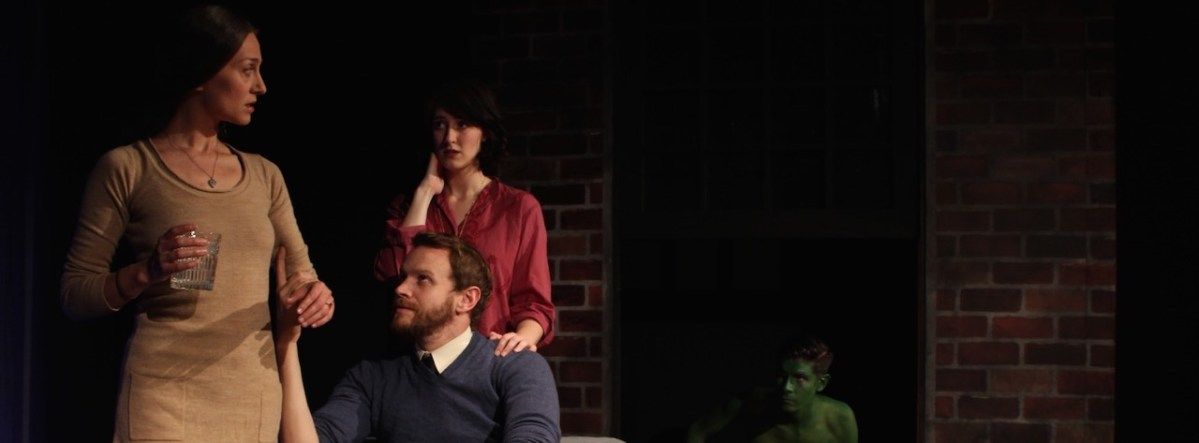 AMB Theatre Podcast #22 presented by OCR –  Green Man  @ STAGEStheatre in Fullerton - Podcast