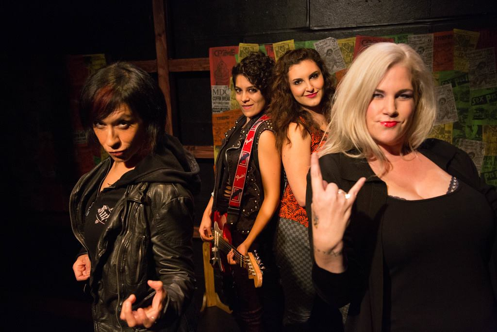 The Runaways All Grown Up -  OCcentric New Play Festival Presents : Fabulous Monsters @ Chapman University - Review