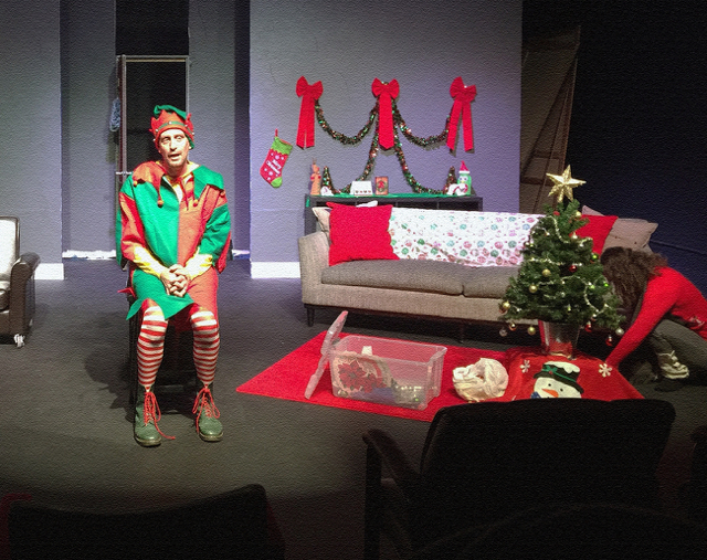 Holiday Humor : David Sedaris' The Santaland Diaries & Season's Greetings @ Modjeska Playhouse in Lake Forest - Review