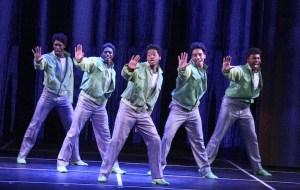 """The company performs in the LA MIRADA THEATRE FOR THE PERFORMING ARTS & McCOY RIGBY ENTERTAINMENT production of """"DREAMGIRLS"""" - Directed and Choreographed by Robert Longbottom and now playing at LA MIRADA THEATRE FOR THE PERFORMING ARTS. PHOTO CREDIT: Michael Lamont"""