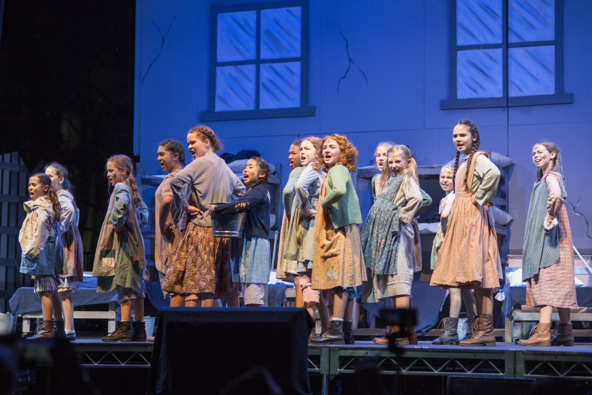 Interview with Production Liaison Erin Kociela about Annie @ Peppertree Park in Tustin - Podcast