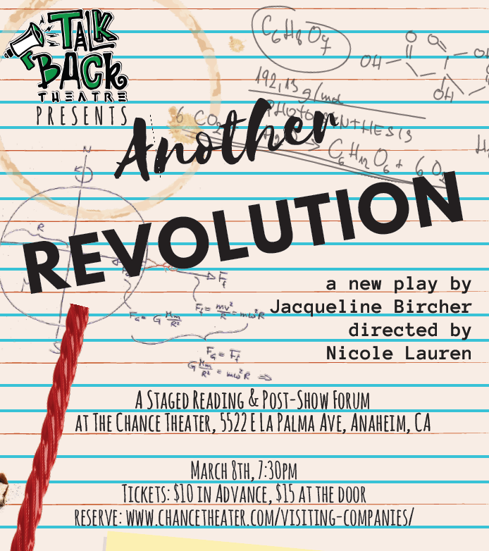 "OCR Podcast #11 : Interview with Director Nicole Lauren & Playwright Jacqueline Bircher of ""Another Revolution"" @ The Chance Theatre"