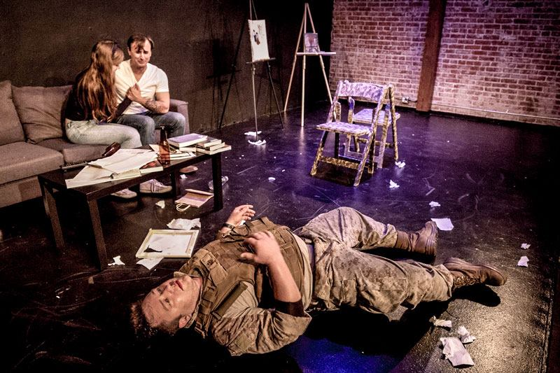 Twist, Pull, Smoke: The Horror of Life After War @ Maverick Theatre - Review