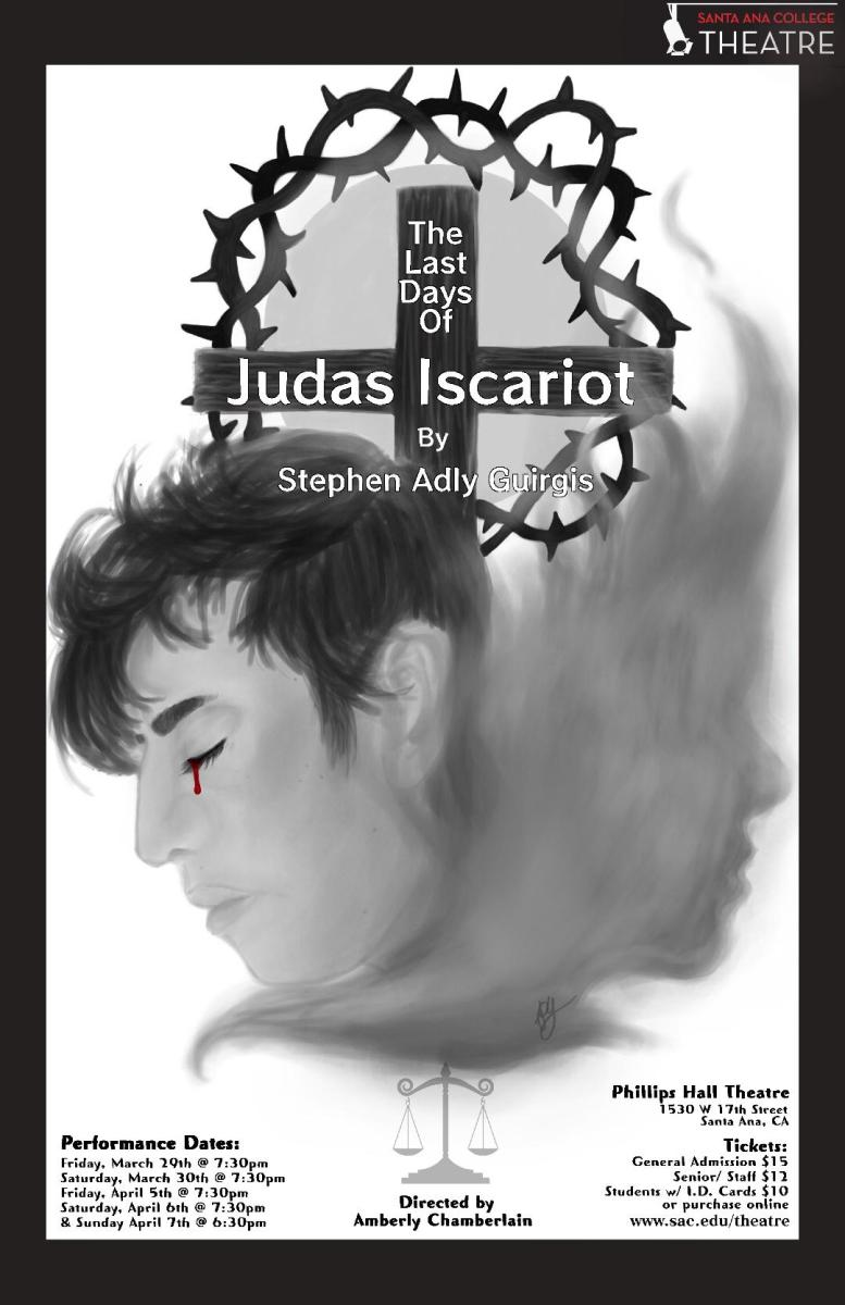 Interview with Amberly Chamberlain Director of The Last Days of Judas Iscariot playing now @ Santa Ana College - PODCAST